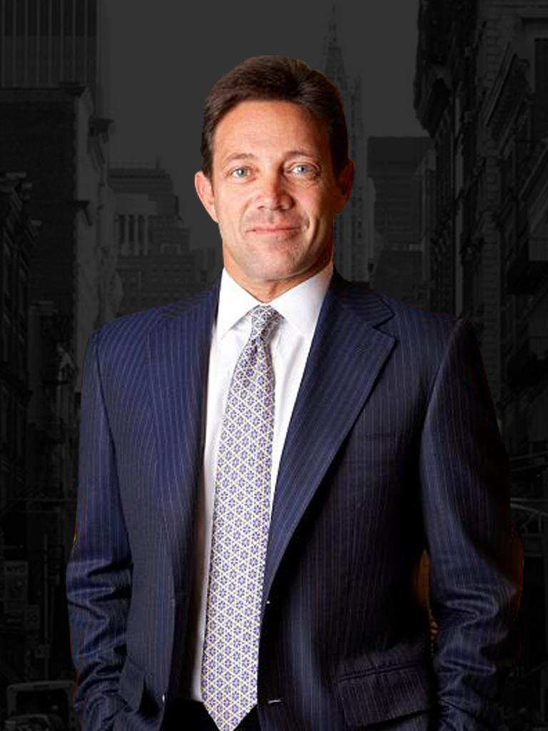 JORDAN BELFORT The former Wolf of Wall Street arrives in Australia to share his colourful stories of greed, power and excess.