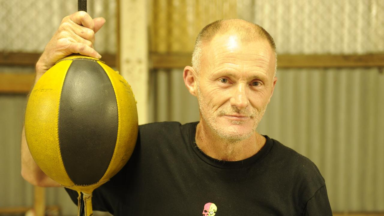 Grafton Amateur Boxing Club trainer Dean Cribb at the Prince St gym.