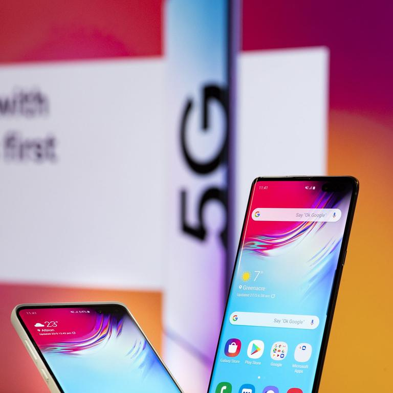 Samsung was the first to introduce a 5G smartphone to Australia.