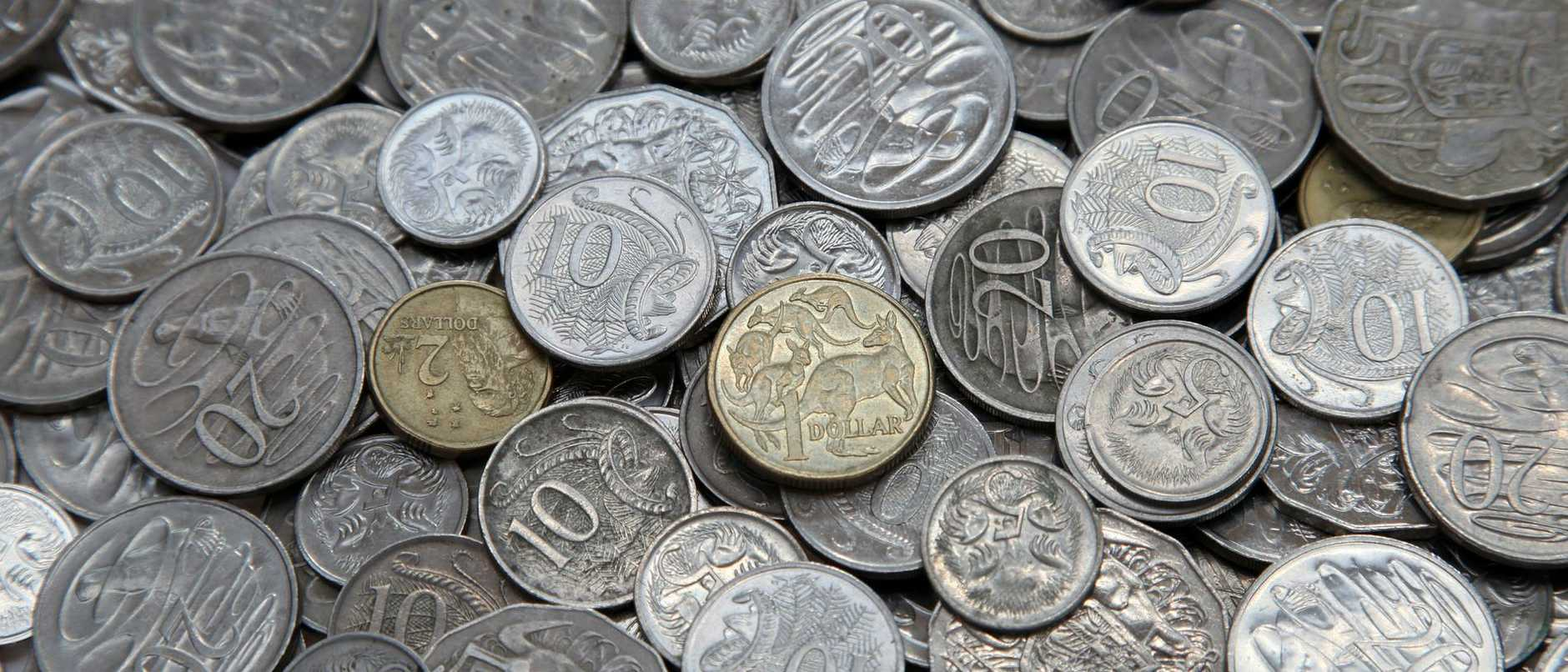 Secert message in 50 cent coin revealed. Picture: iStock