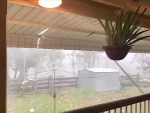 WATCH: Scary footage of Gympie region's supercell