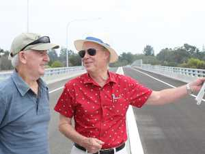 GRAFTON BRIDGE: Duo there from the start