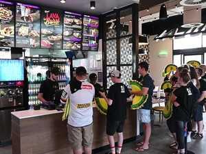WATCH: Ipswich Taco Bell Opening