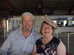Alan and Jenny Gibson at the Family Fun Day at