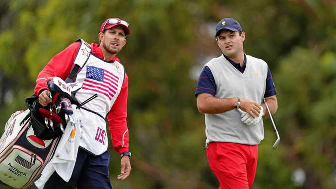 Patrick Reed's caddie in Presidents Cup fan fight: report