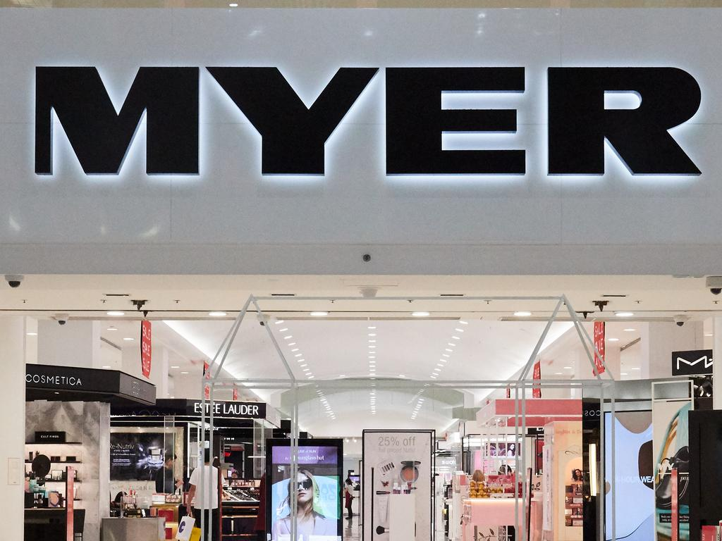Sunshine Plaza's Myer centre tills are down. Picture: file photo