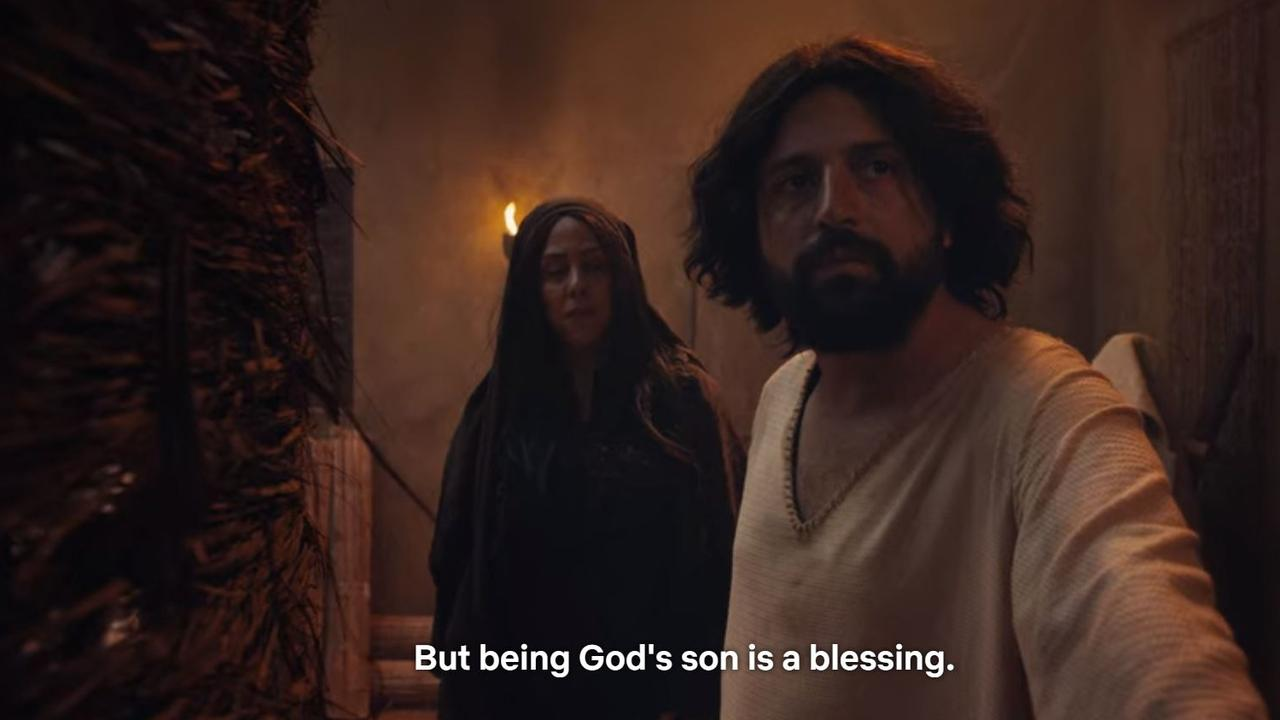 A scene from Netflix special The First Temptation of Christ.