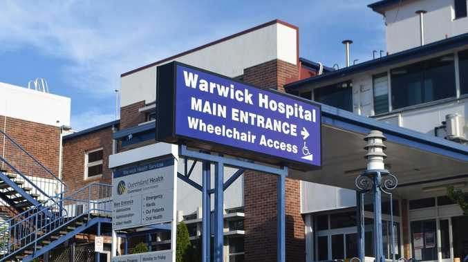 Woman in hospital after Warwick crash