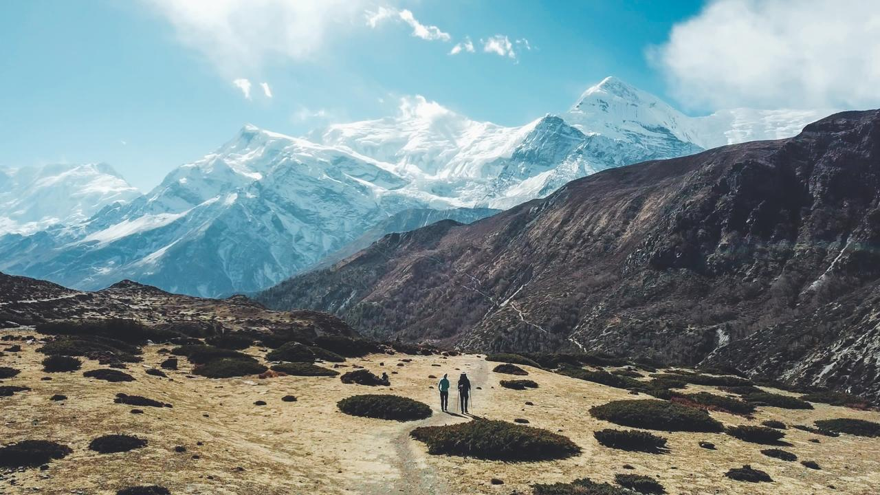 Annapurna Circus Trek, Himalayas, Nepal. Every bucket-list adventure comes with a certain amount of risk. Picture: Christopher Moswitzer