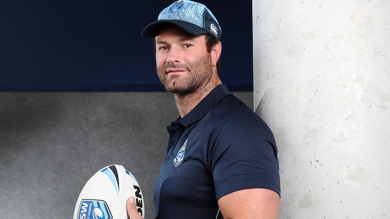 Sydney Roosters and NSW Blues skipper Boyd Cordner. Picture: Jonathan Ng