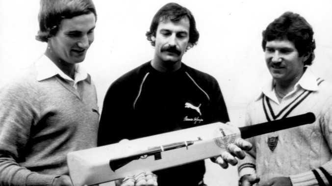 Story behind Dennis Lillee's bizarre aluminium bat