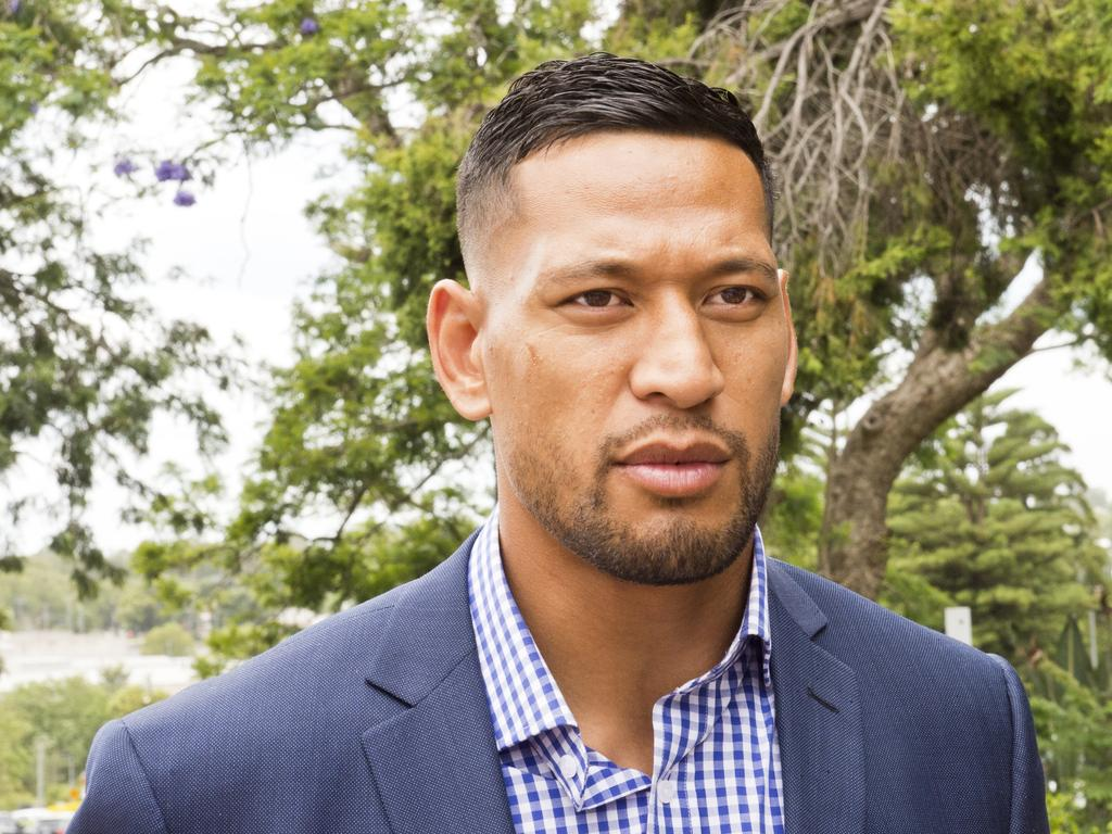 Folau is now a free sport agent.