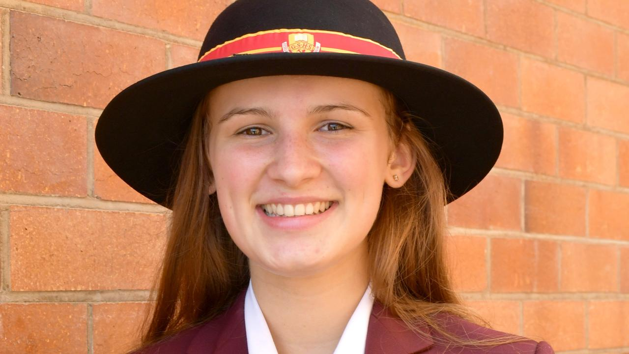 Gympie High graduate Amelia McDermott was one of three from the school to achieve the coveted OP 1 score.