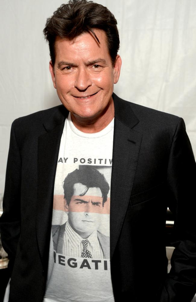 Charlie Sheen. Picture: Getty Images.