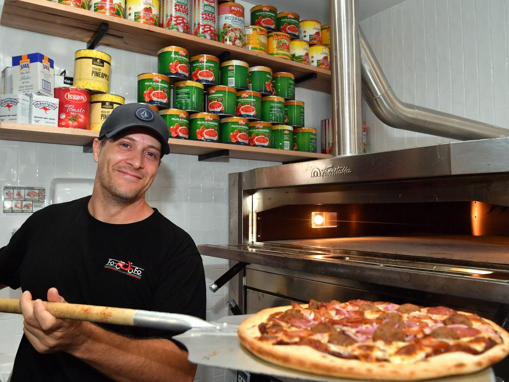 Head Chef at Fo Fo Italian in Kawana Michael Oldfield. Photo: John McCutcheon / Sunshine Coast Daily