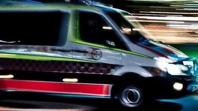 Two in hospital after car rolls near Gympie