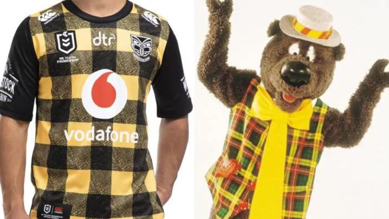 The Warriors Wellington jersey was oddly familiar …