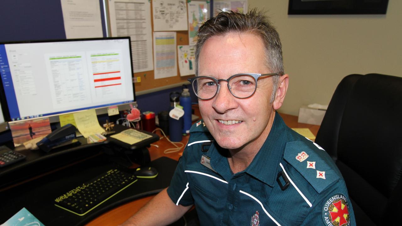 Queensland Ambulance Clinical Director Tony Hucker