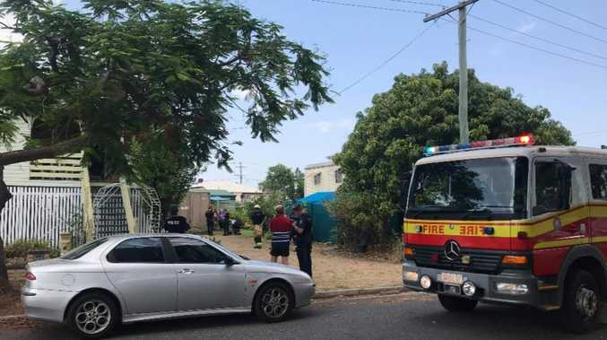 Fire scare at Rocky home