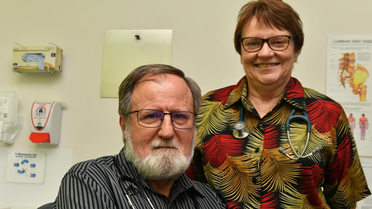 After almost 40 years Gladstone GPs Dr John Bird and Dr Lola Kerr are retiring.