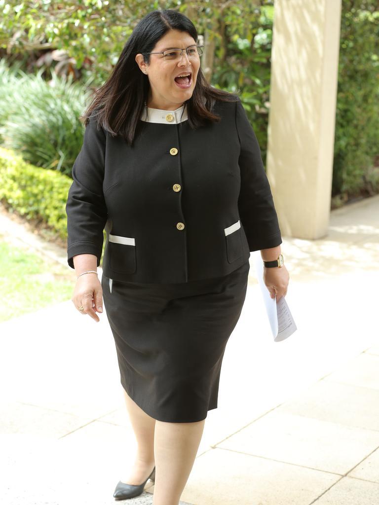 Education Minister Grace Grace. Picture: Mark Cranitch.