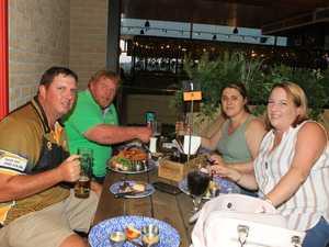 Dining: Chris Bassingthwaighte, David Ost, Bianca Ost