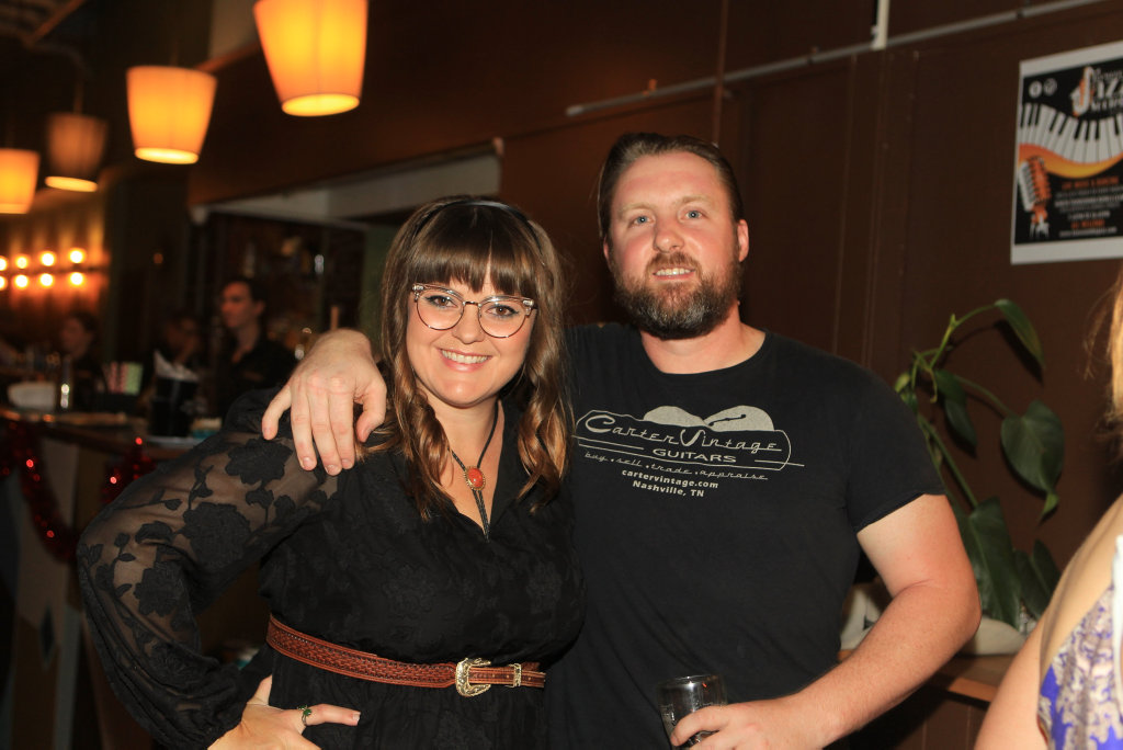 Image for sale: Nitelife: Sue Ray and Will Schaetzl at Bar Wunder.