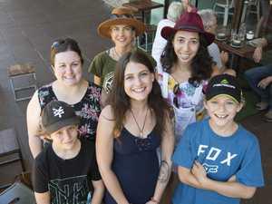 ( Back from left ) Nadia Emblen, Christina Meyer