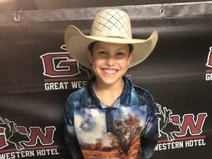 RODEO CHRISTMAS SHOWDOWN: U11 buckle winner Jace