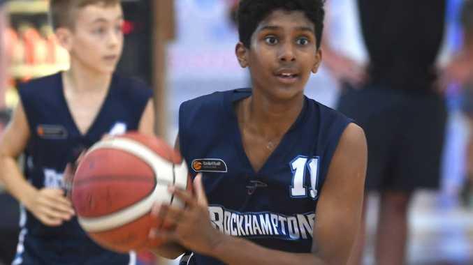 BASKETBALL CQ JUNIOR CARNIVAL U16s: Rockhampton's Anjana Perera