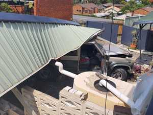 Car ploughs into Coffs property