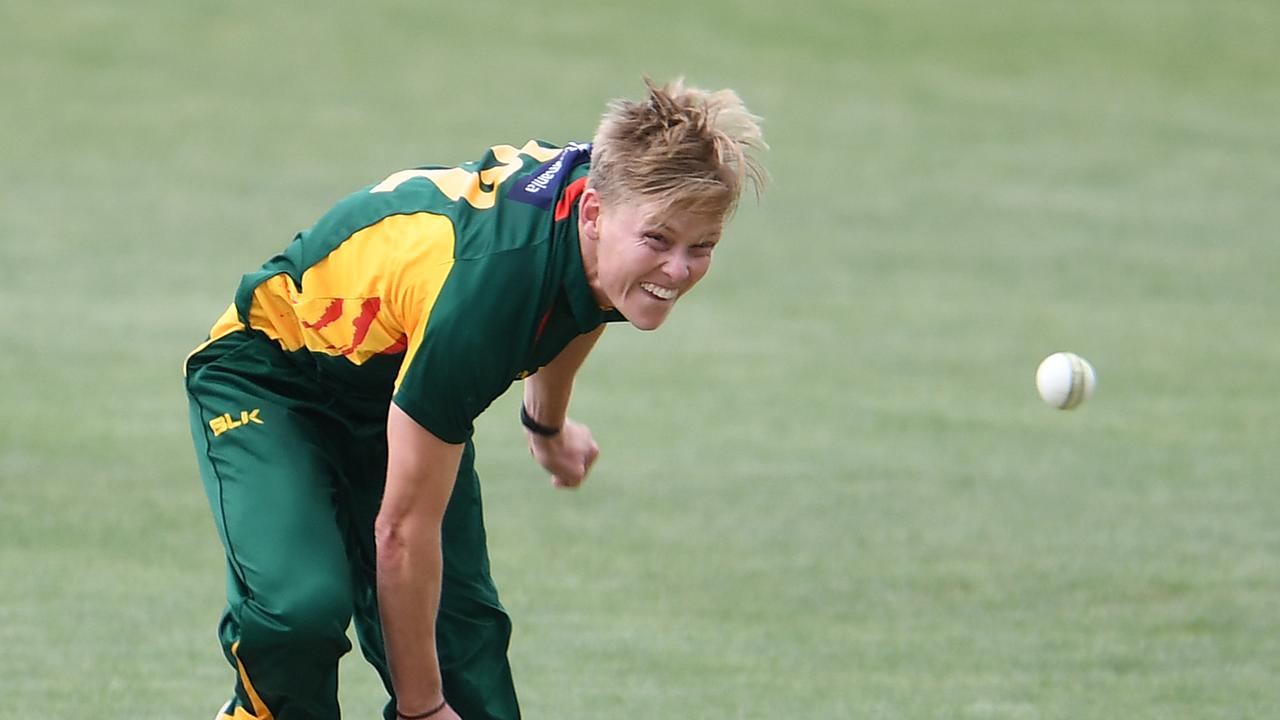 Nathan Ellis announced himself in the Marsh Cup for Tasmania.