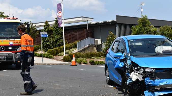 Man taken to hospital from Gympie CBD crash