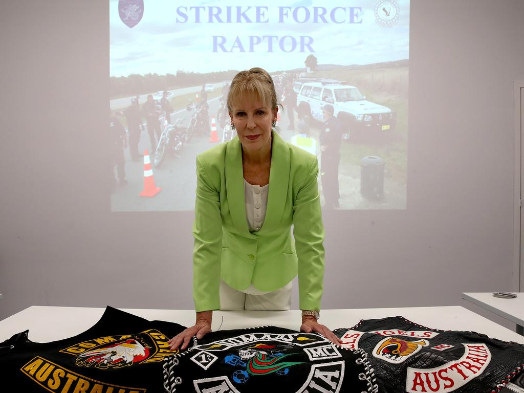 Strike Force Raptor boss Detective Superintendent Deb Wallace. Picture: Toby Zerna
