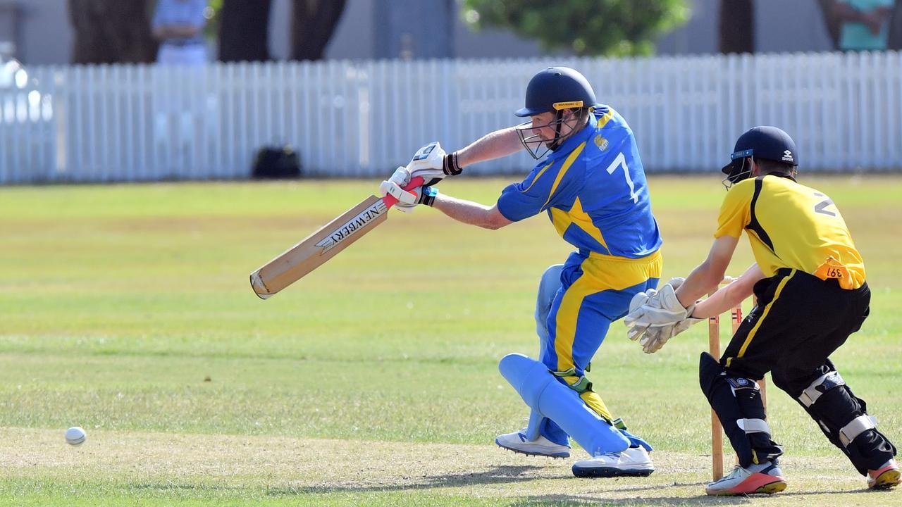 Sunshine Coast Division 1 cricket match at Caloundra between Caloundra and Nambour. Nick Wallace. Photo: John McCutcheon / Sunshine Coast Daily
