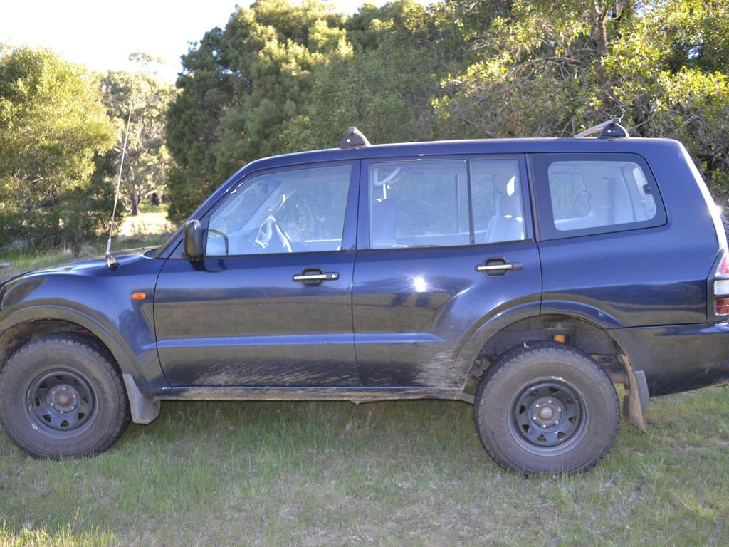 Gary Ridley's body was later found dead in the driver's seat of this vehicle. Picture: NSW Police