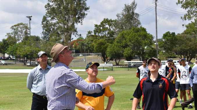 SPORT SPEND: Minister opens three turbo-charged Gympie sports venues
