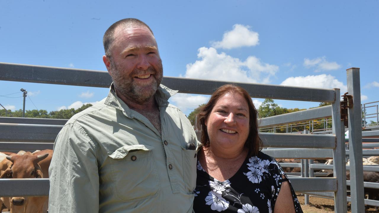Bowen graziers Nev Mitchell and Sandra Mitchell. Photo: Zizi Averill
