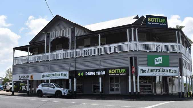 Classic Gympie pub under reno – owner says he must be crazy