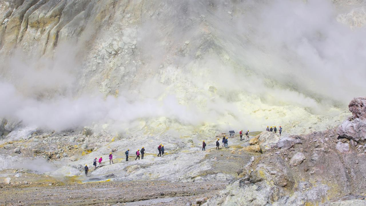 Many active volcanic countries face the dilemma of wanting tourists but also wanting to keep people safe. Picture: Alamy