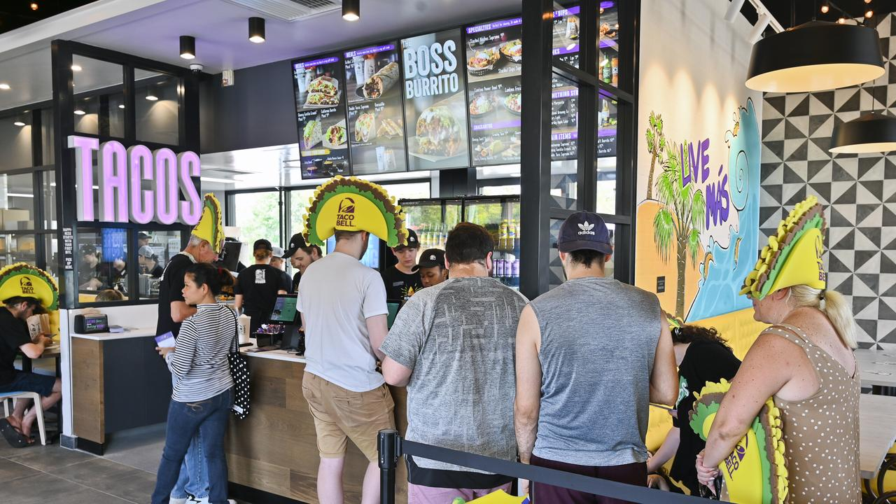 East Ipswich Taco Bell opening. Picture: Cordell Richardson