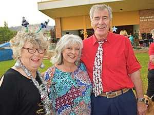 Mary Rofe, Jenel Hunt and Bill Welch.