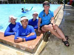 DNA Aquatics swim teachers: Joanne Anderson, David