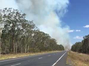 Smoke near Childers Rd