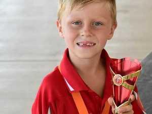 JAXON RISES TO TOP: Athlete shines in Bargara