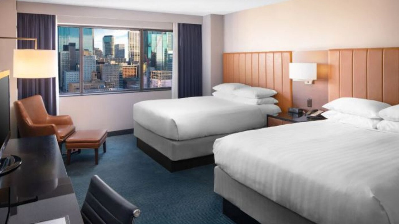Cameras were found in students' hotel rooms. Picture: Hyatt/file image