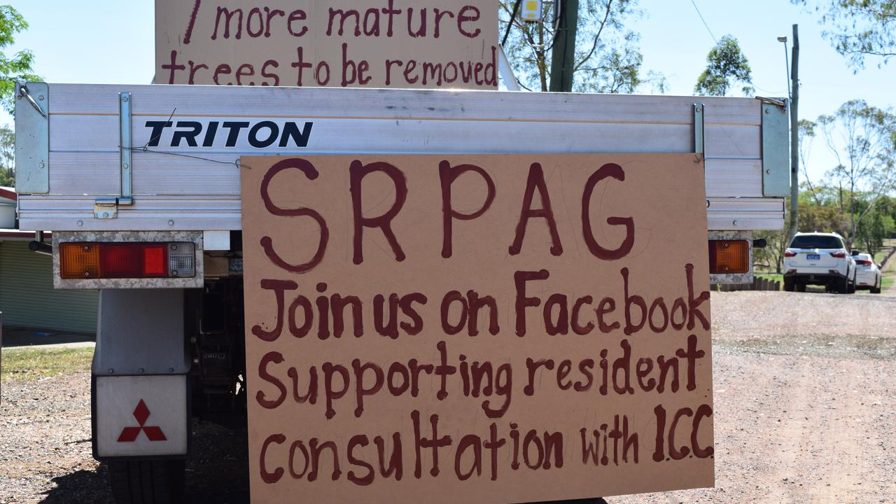 Jo McCormick and Debbie Mackay from SRPAG – a resident's group that is standing up for the lack of consultation around the Salisbury Rd redevelopment.