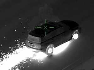 VIDEO: Sparks fly in wild police chase