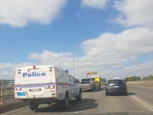 BREAKING: Car backs up traffic after breaking down on bridge