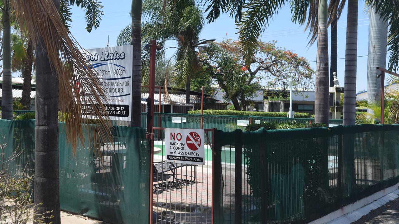 CLOSE CALL: A drunk man who almost drowned in the pool of a Biloela caravan park has now been banned.
